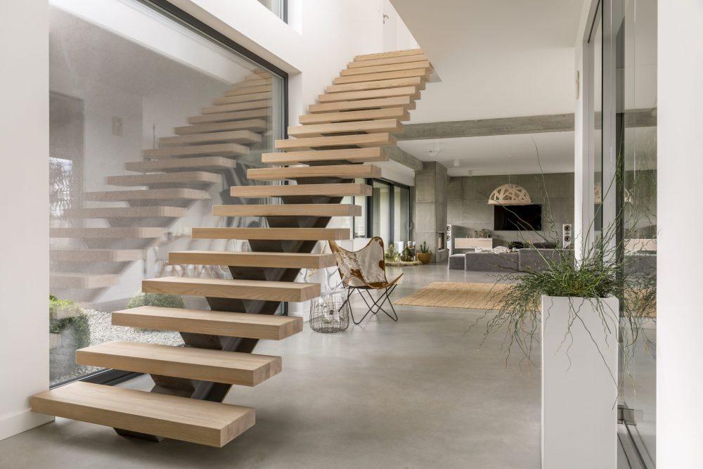 escaleras modernas interiores