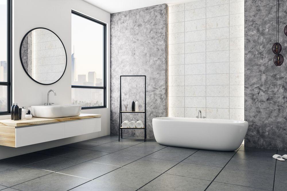 azulejos modernos para baños