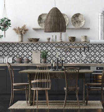 ¿Qué tipo de azulejos hidráulicos para cocina elegir?